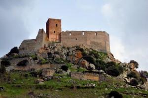 Das Schloss von Burgos