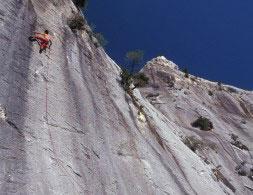Klettern in Sardinien Italien