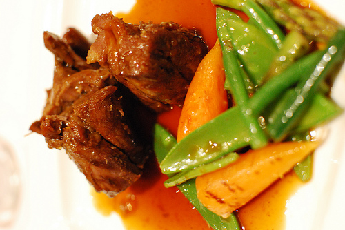 Sardinian recipe: lamb with saffron