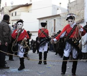 Carnival in Mamoiada: Mamuthones and Issohadores