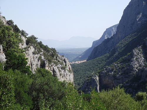 nuragic village of Tiscali