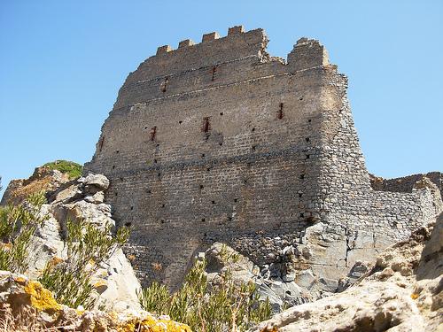 Castles of Sardinia: Acquafredda