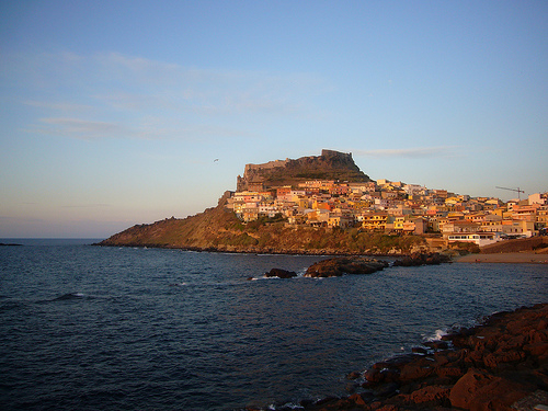 Valentine's day in Sardinia: Castelsardo