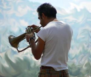 Jazz music in Berchidda, Sardinia
