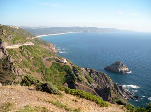 The breathtaking Sardinian coastline