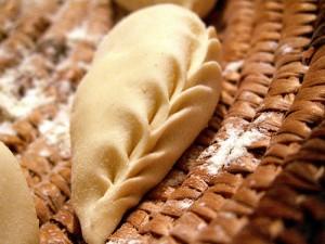 Traditional Sardinian pasta