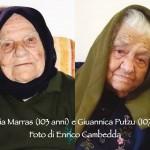 Centenarians in Teulada - photo Enrico Cambedda