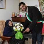 Mayor with centenarian