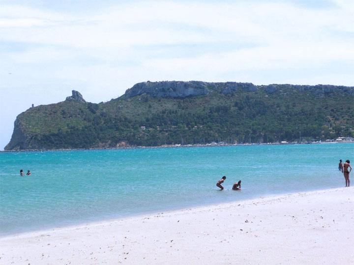 Playa Poetto Cagliari