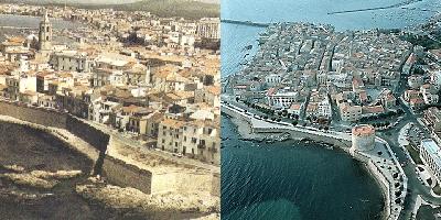 Panoramiche di Alghero dall'alto