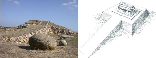 Archeologia in Sardegna Ziqqurat sul Monte d'Accoddi