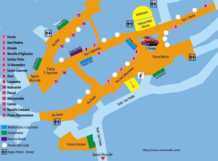 Piccola Mappa di Milis