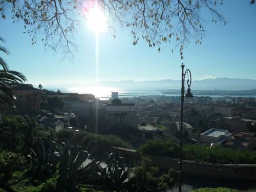 Panorama Golfo di Cagliari