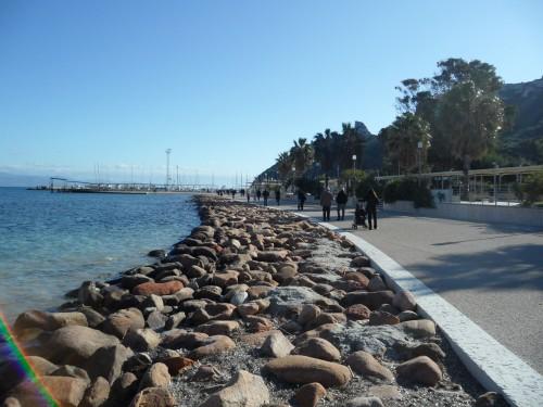 Passeggiata sul mare Marina Piccola