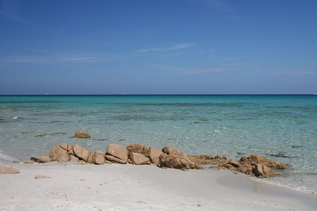 La spiaggia di Bidderosa in Sardegna