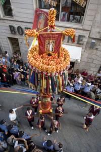 A Sassari la discesa dei Candelieri 2012