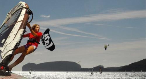 Alessandra Sensini al SWK Surf 2012 di Alghero