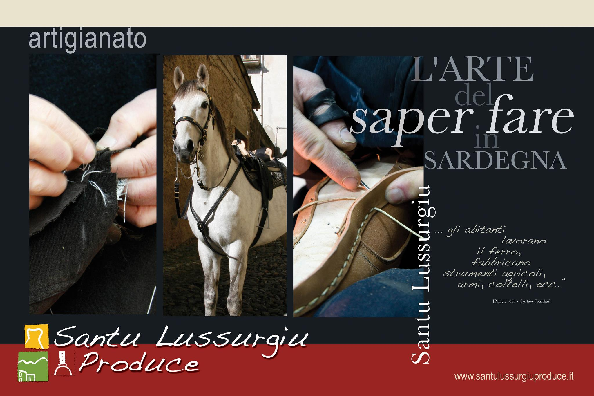 Santu Lussurgiu produce_locandina artigianato