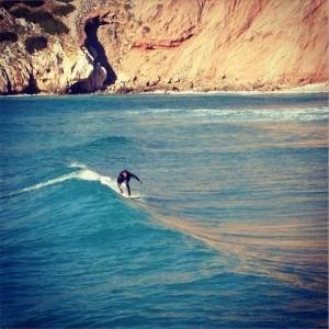 Surfer a Buggerru
