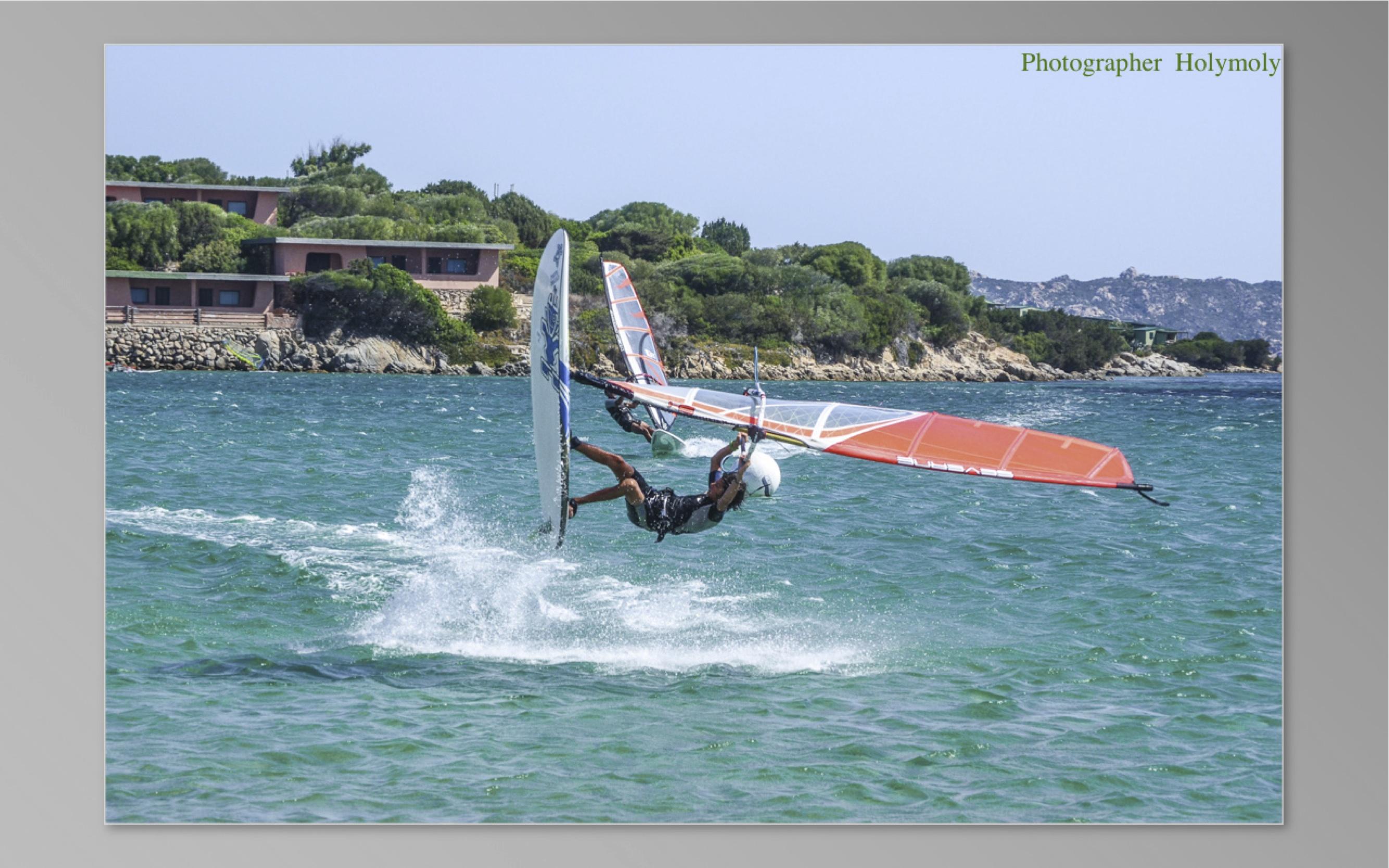 Windsurf ad Alghero: Alessandra Sensini