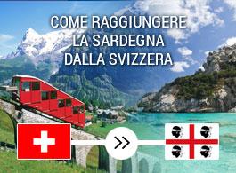 arrivare in Sardegna dalla Svizzera