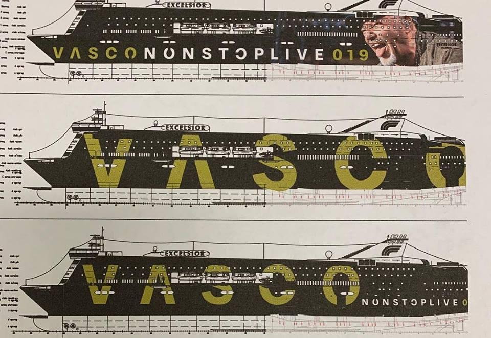 Minicrociera GNV Vasco Rossi