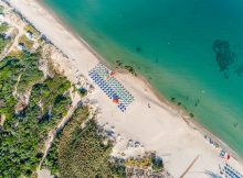 Spiaggia del Baiaverde Hotel e Residence a Valledoria in Sardegna