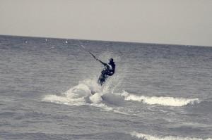 Кайтсерфинг на Сардинии-Италия