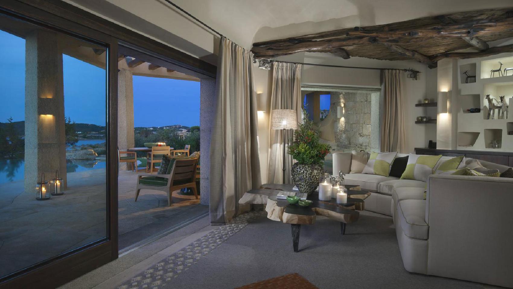 Hotel pitrizza liscia di vacca arzachena sardinien for Sardinien design hotel