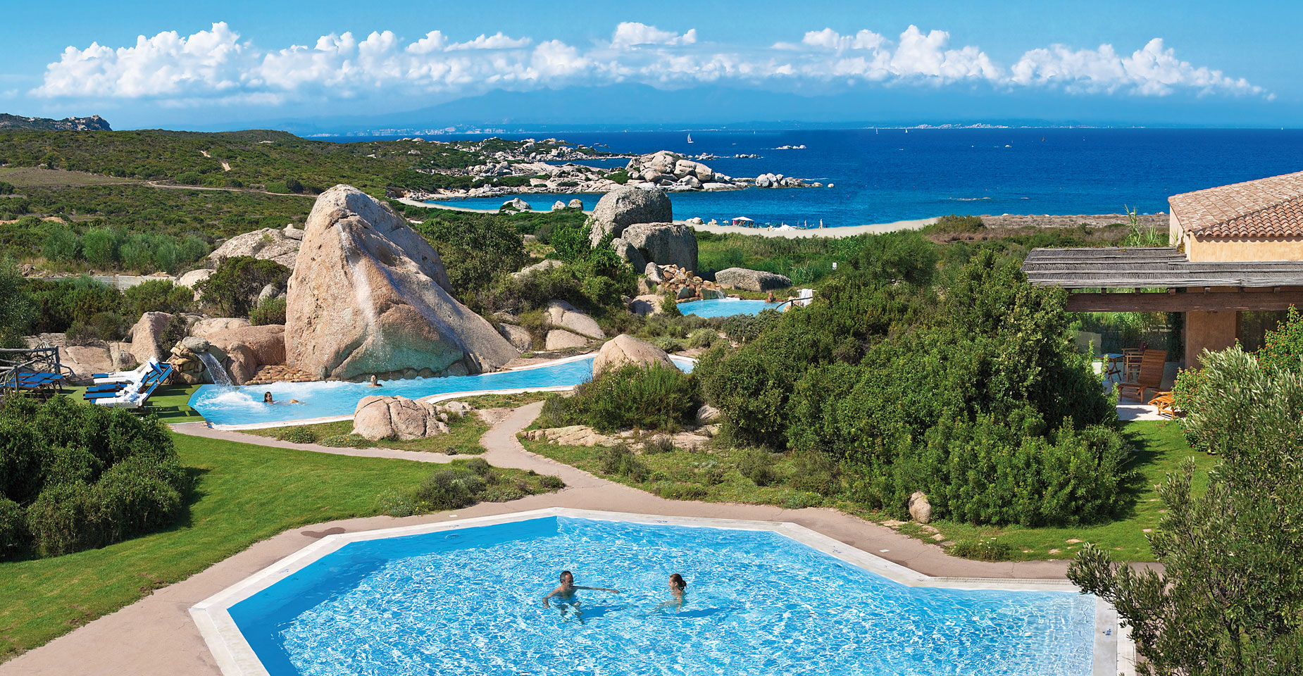 Resort valle dell 39 erica thalasso spa santa teresa di for Hotels sardaigne