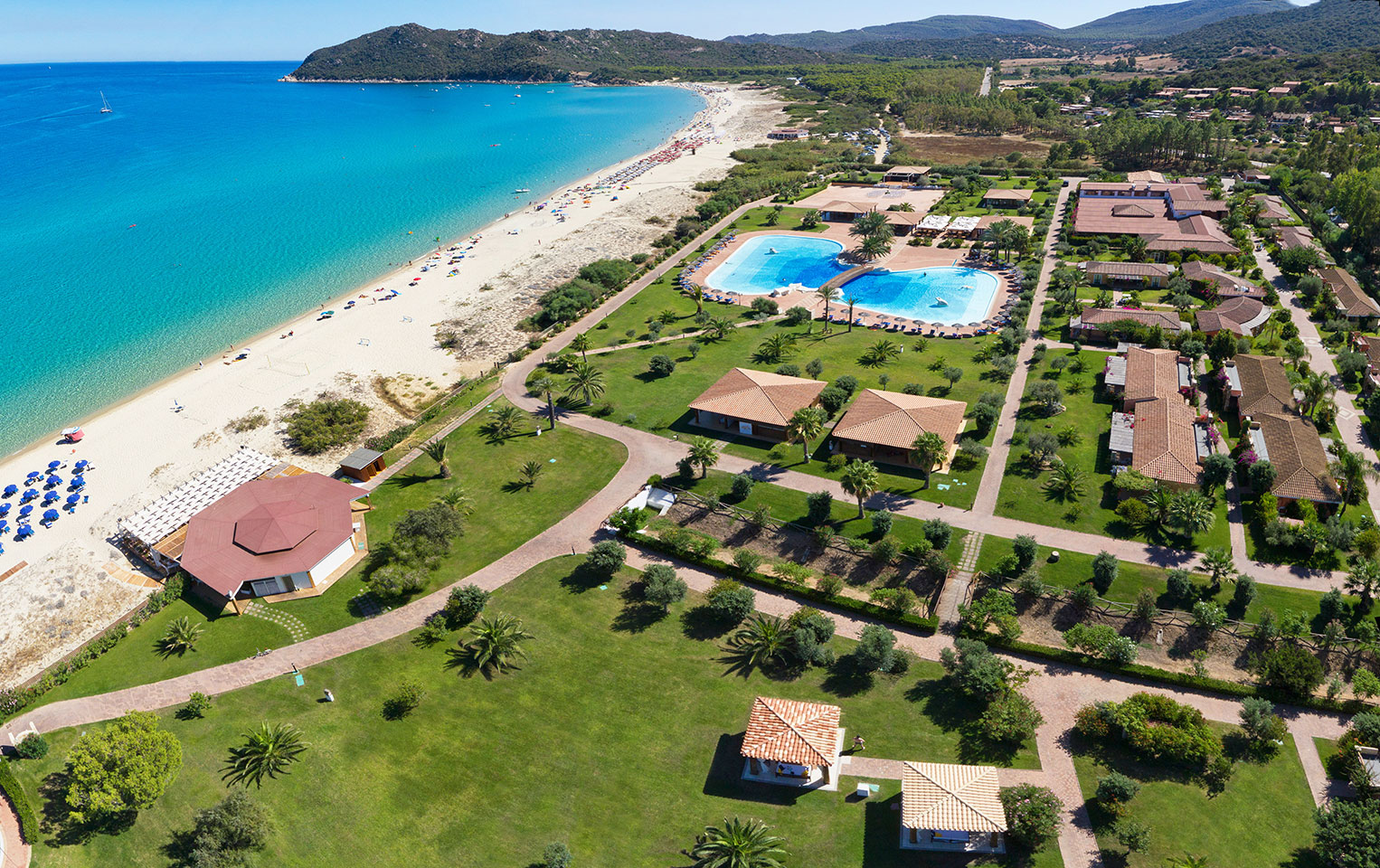Sardinien  Sterne Hotel Sandstrand
