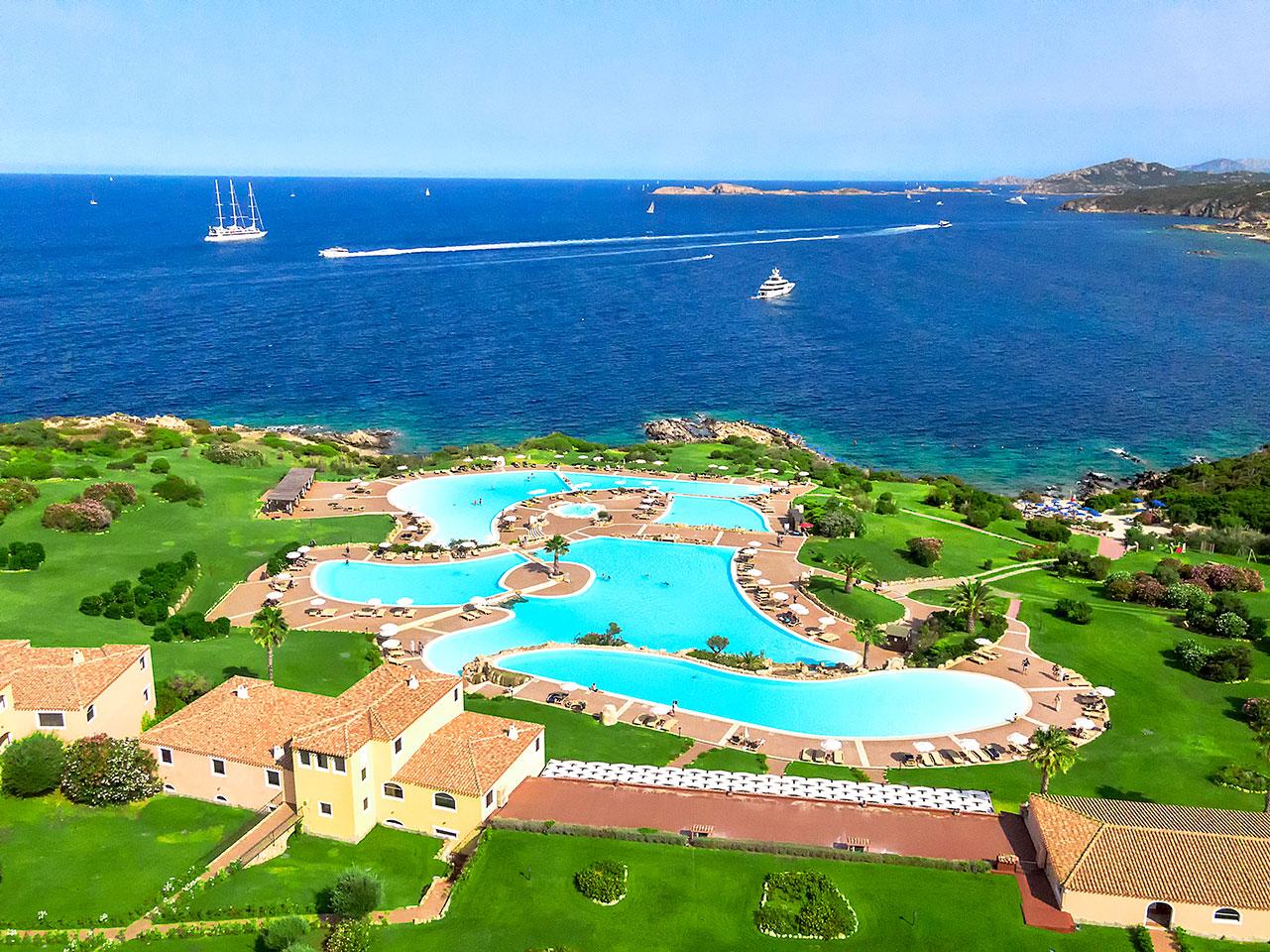 Colonna Park Hotel Porto Cervo Sardinien