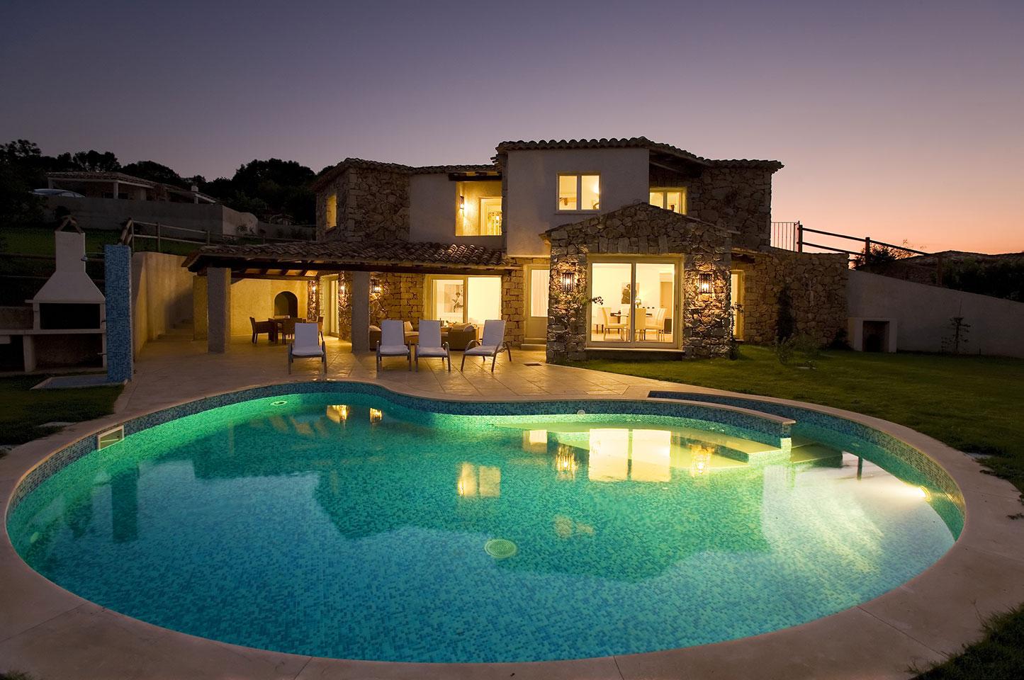 Ville melodia costa rei muravera sardinia italy for Home piscine