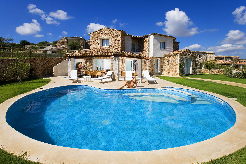 Ville melodia costa rei muravera - Casa vacanze con piscina privata ...