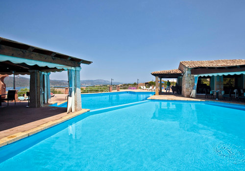 Self-catering in Costa Smeralda in Sardinia